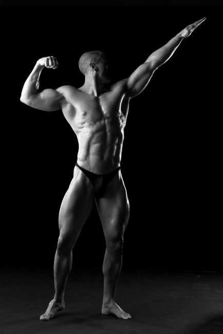 Body Builder - Photography by Syd Mannion Commercial Photography